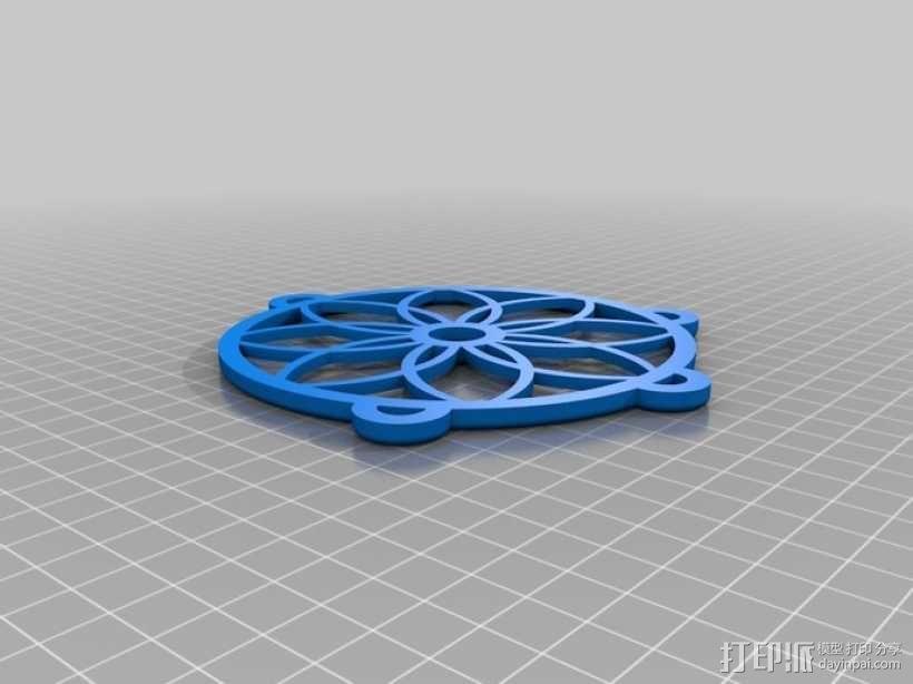捕梦网模型 3D模型  图2
