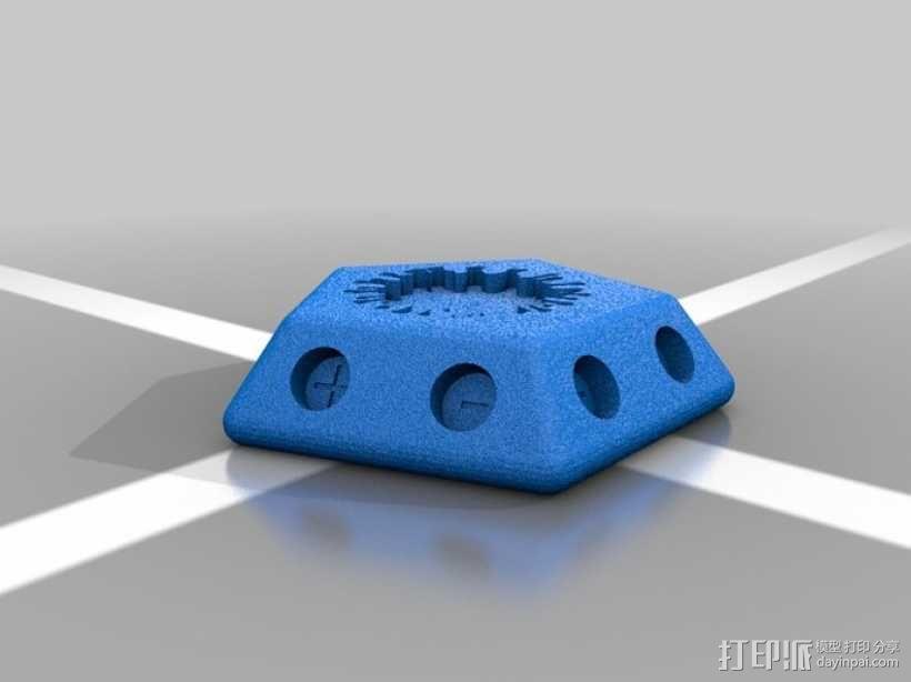 正十二面体 病毒模型 3D模型  图5