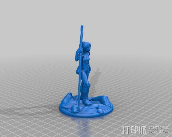 辛特尔模型 3D模型  图2