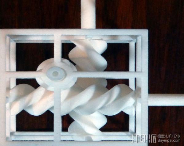 三螺旋模型 3D模型  图4