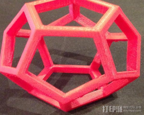 中空12面体 3D模型  图3