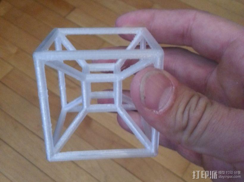 四维超正方体 3D模型  图1