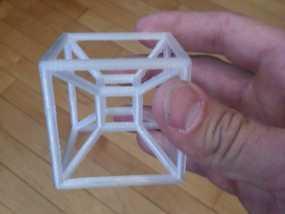四维超正方体 3D模型