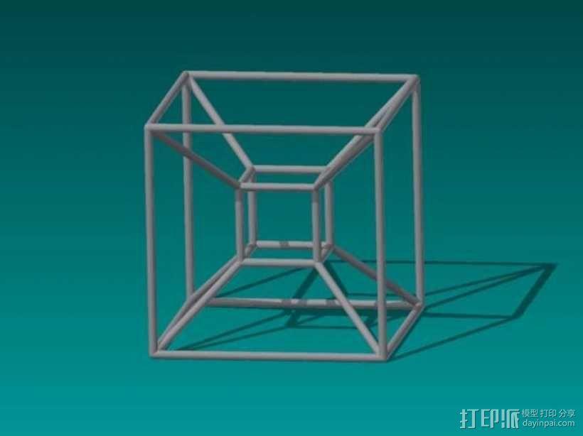 四维超正方体 3D模型  图4