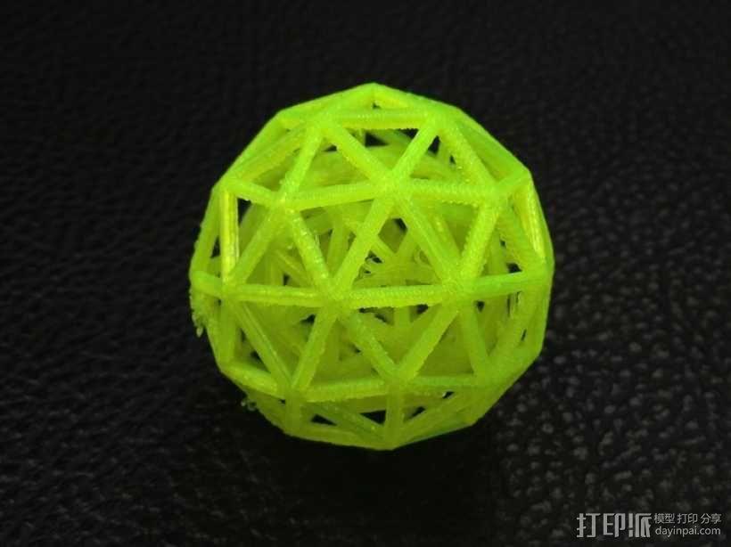 双层球 球中球 3D模型  图1