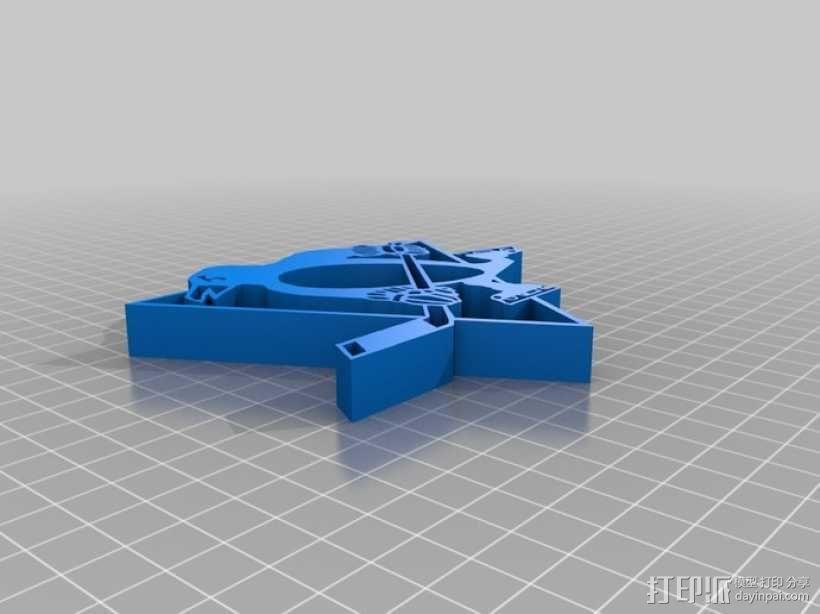 匹兹堡企鹅队标志 3D模型  图1