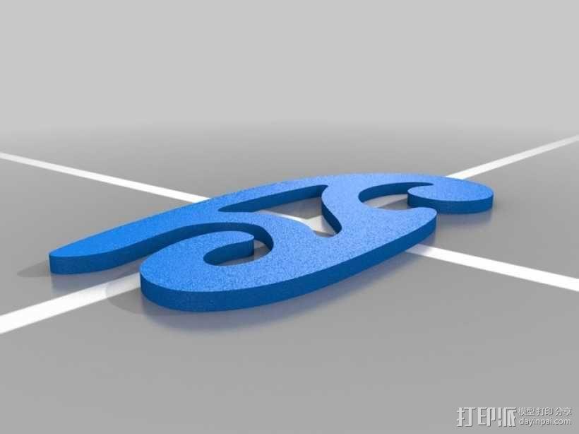 曲线板 曲线尺 3D模型  图4