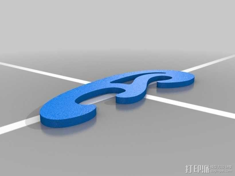 曲线板 曲线尺 3D模型  图5