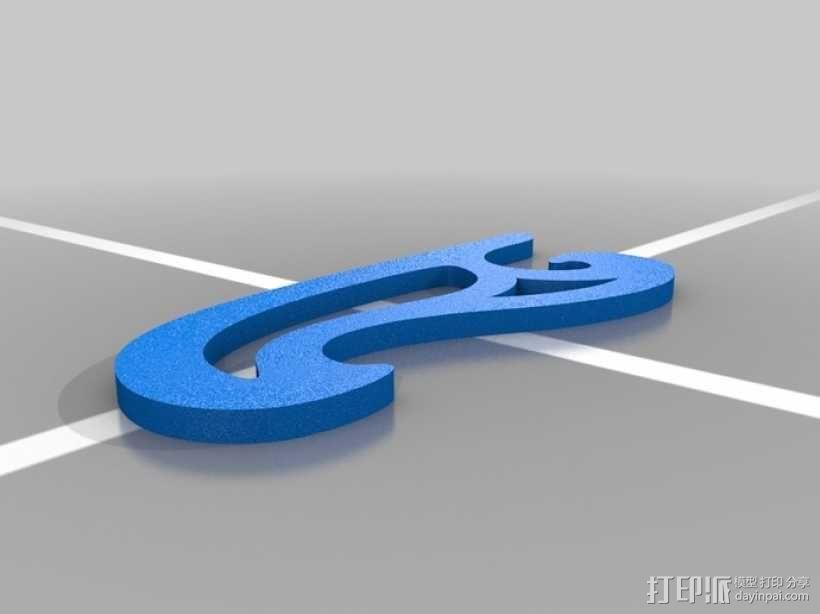 曲线板 曲线尺 3D模型  图8