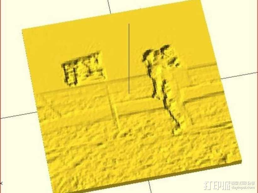 透光浮雕 3D模型  图3