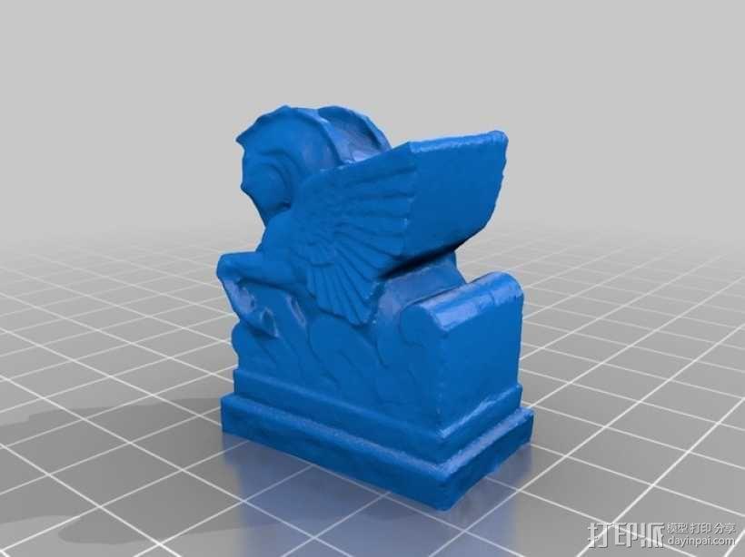 飞马雕塑模型 3D模型  图1
