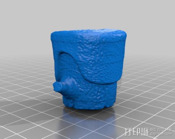 树桩模型  3D模型  图2