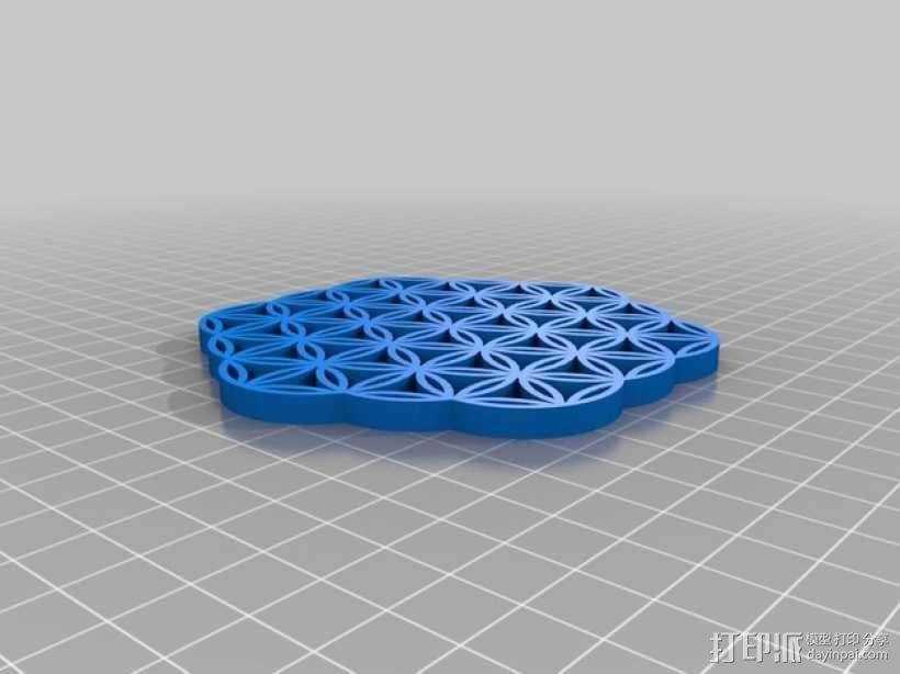生命之花 3D模型  图1
