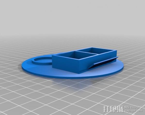 迷你颜料台 3D模型  图2