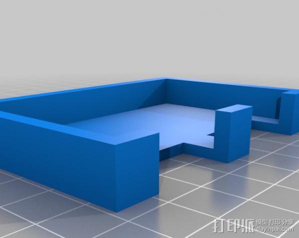 步进机台灯 3D模型  图2