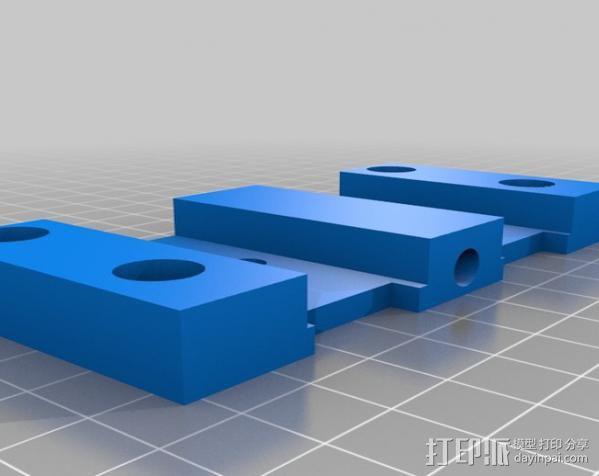 步进机台灯 3D模型  图4