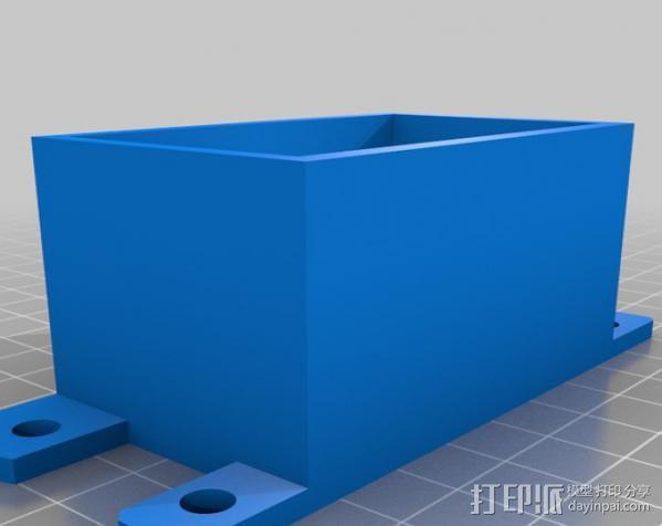 步进机台灯 3D模型  图3