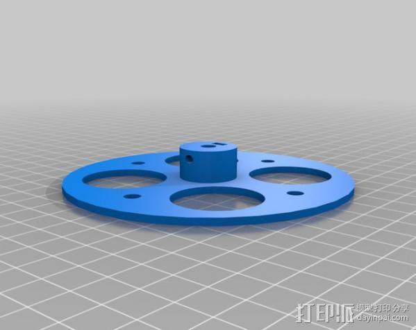 步进机台灯 3D模型  图12