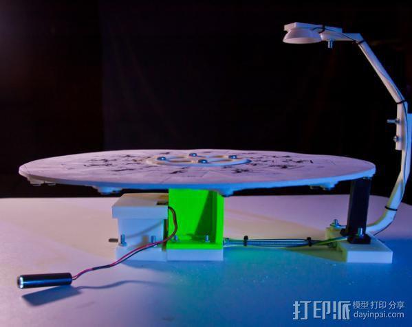 步进机台灯 3D模型  图20
