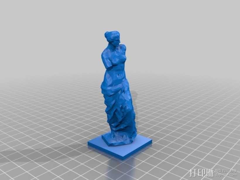 阿佛洛狄忒 3D模型  图1
