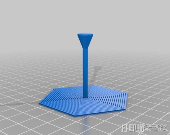 定制螺旋树 3D模型  图3
