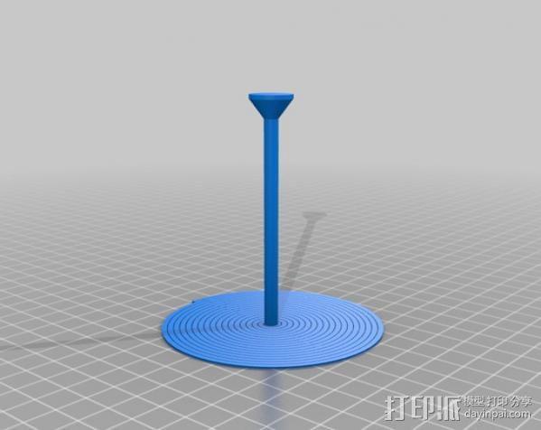 定制螺旋树 3D模型  图4