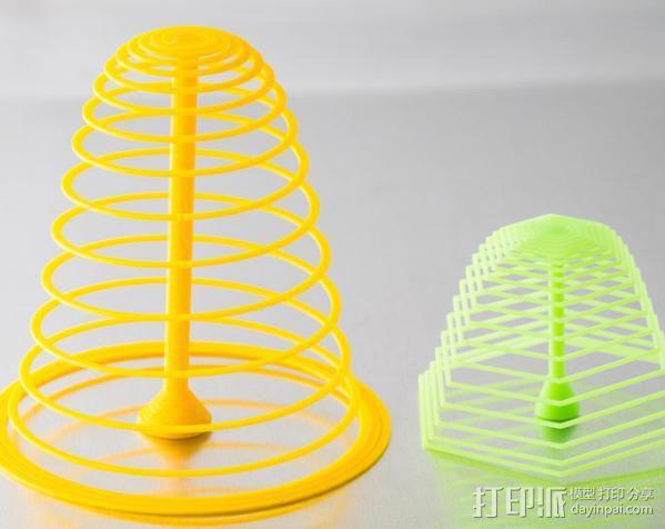 定制螺旋树 3D模型  图2