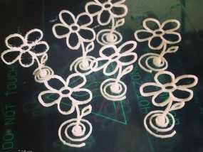 五瓣花 3D模型