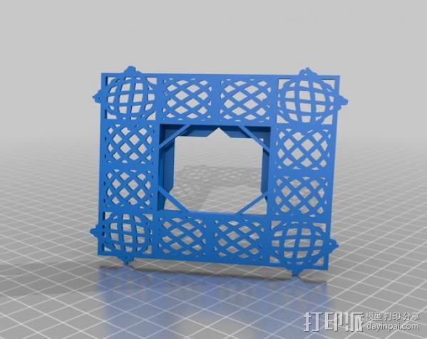 利萨茹相框 3D模型  图5