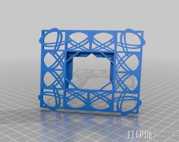 利萨茹相框 3D模型  图7