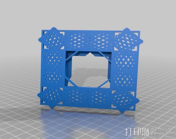 利萨茹相框 3D模型  图8