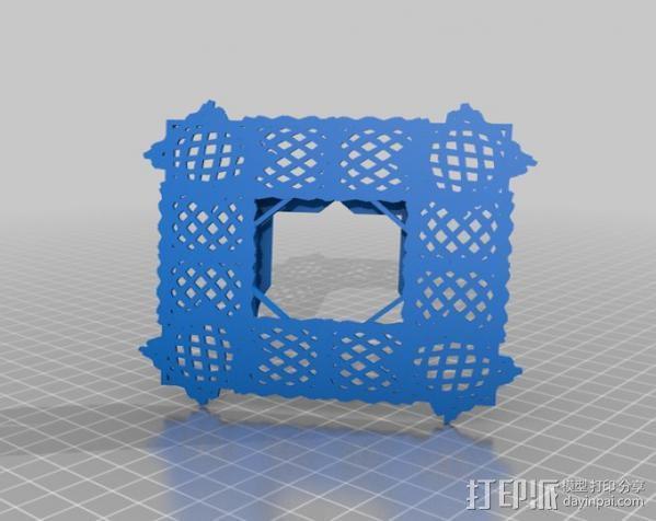 利萨茹相框 3D模型  图9