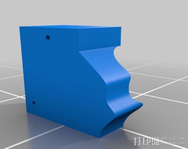 Lisa头骨模型模具 3D模型  图2