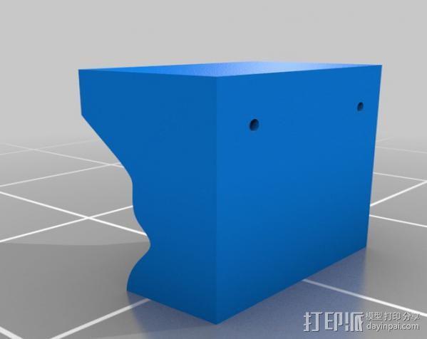 Lisa头骨模型模具 3D模型  图3