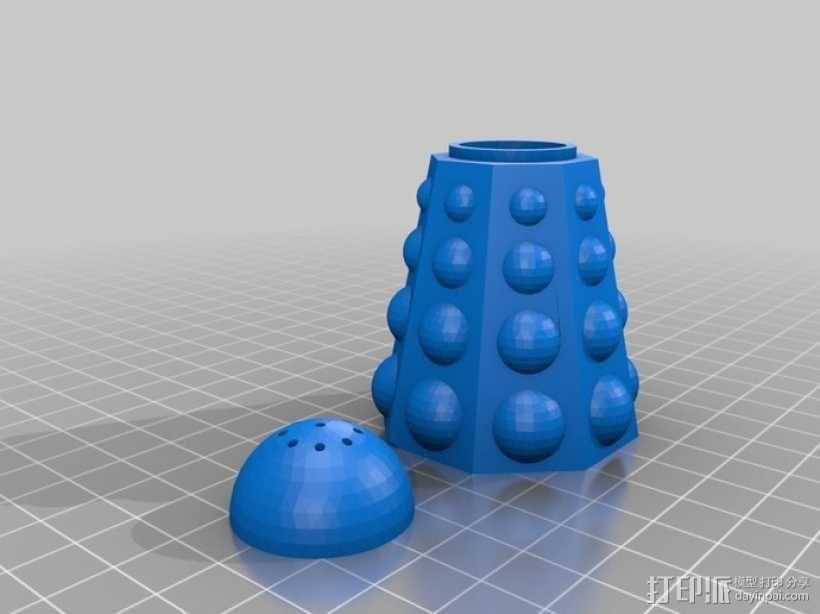 调料瓶  3D模型  图1