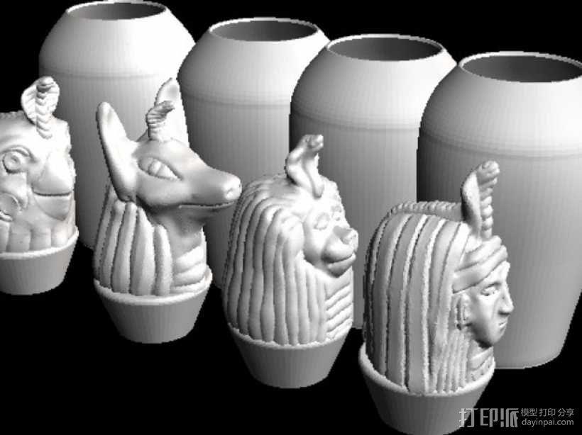 卡诺卜坛 3D模型  图1