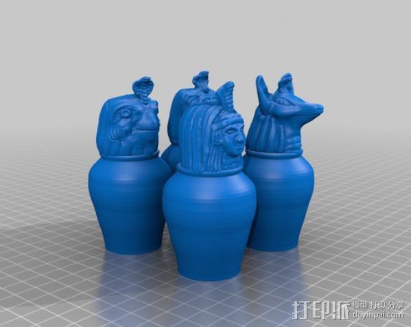 卡诺卜坛 3D模型  图3