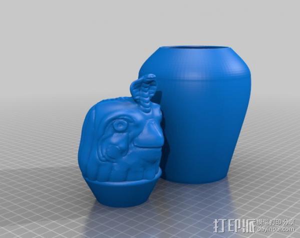 卡诺卜坛 3D模型  图4