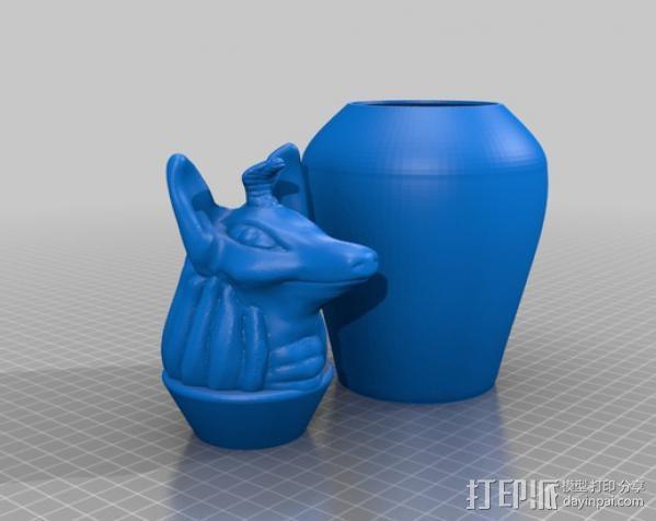 卡诺卜坛 3D模型  图5