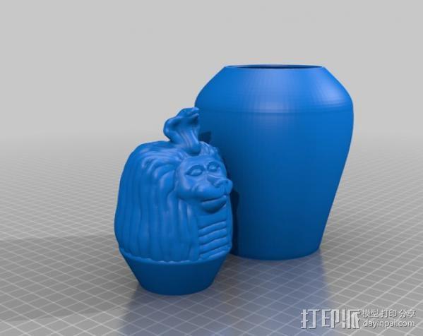卡诺卜坛 3D模型  图6
