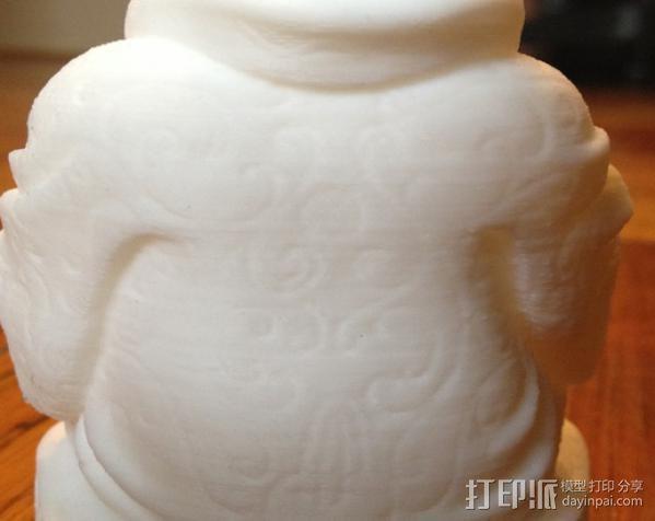 佛像雕塑 3D模型  图2