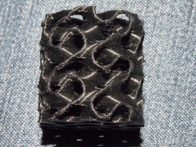 螺旋孔式圆柱体 3D模型  图8