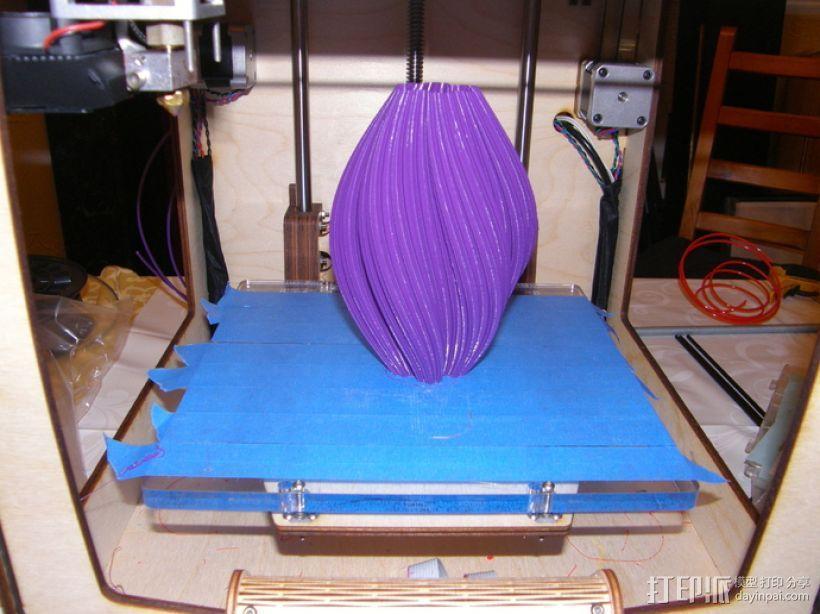 科赫曲线花瓶 3D模型  图3