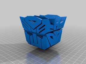 汽车人VS霸天虎 标志 3D模型