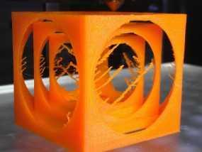 嵌套式立方体 3D模型