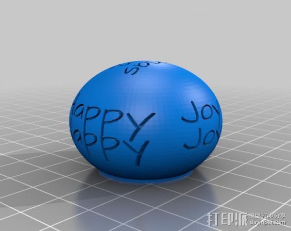 小球装饰物 桌面摆件 3D模型  图5