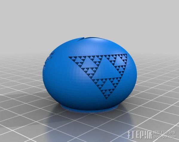 小球装饰物 桌面摆件 3D模型  图4