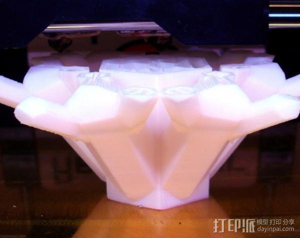 石英晶体模型 3D模型  图2
