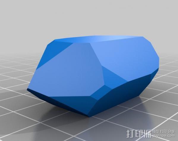石英晶体模型 3D模型  图6