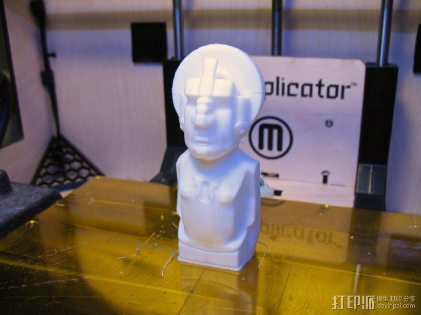迪米特里 提基雕塑 3D模型  图2